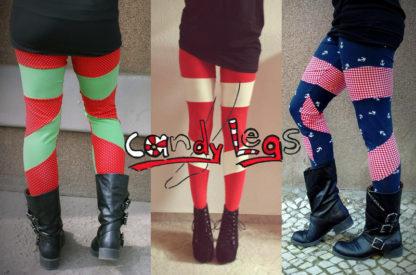 Bild Schnittmuster Leggings Candy Leggs