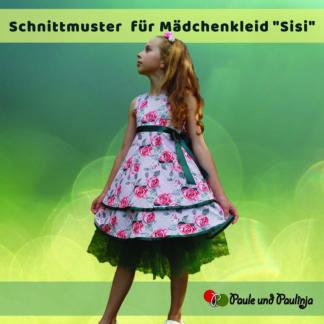 Bild Sisi Mädchenkleid Schnittmuster