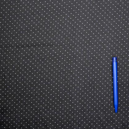 Bild Viskose Punkte weiß auf schwarz