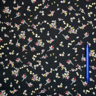Bild Polyester Stoff Zarte Blumen
