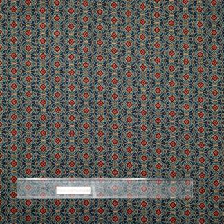 Bild Viskose Polyester mit abstraktem Motiv