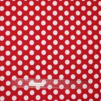 Bild Softshell mit weißen Punkten auf rot