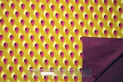 Bild Softshell Tropfenmuster ocker