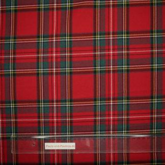 Bild Stoff mit Karomuster schottisch