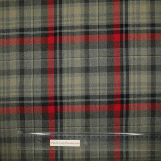 Bild Viskose mit schottischem Muster, auch für Schottenrock