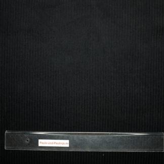 Bild Breitcord Stoff in schwarz
