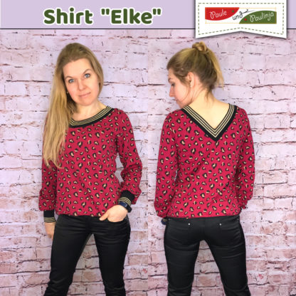 Bild Schnittmuster Damen Shirt Elke