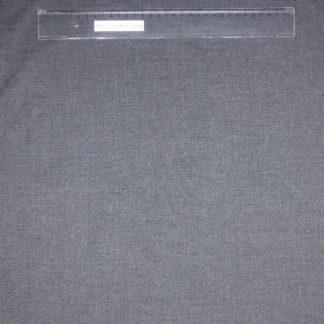 Bild Viskose Stoff grau meliert