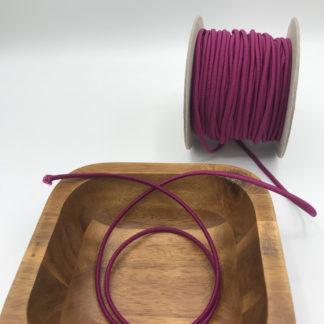 Bild 3mm Gummikordel lila