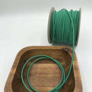 Bild 3mm Gummikordel grün