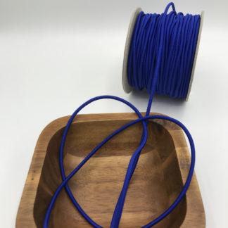Bild 3mm Gummikordel royalblau