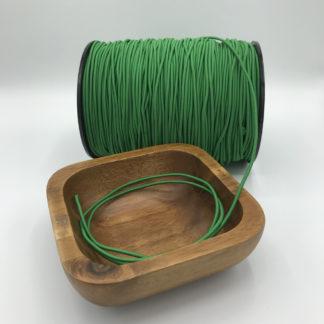 Bild 2,2mm Gummikordel grün