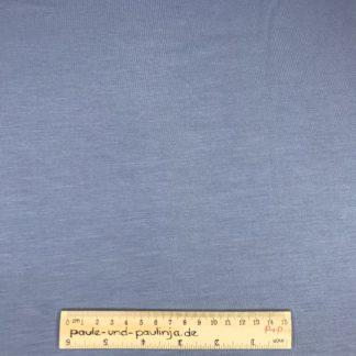 Bild Tencel Modal, Jersey, stretch, dehnbar, unifarbe, uni, blau, taubenblau, pastell
