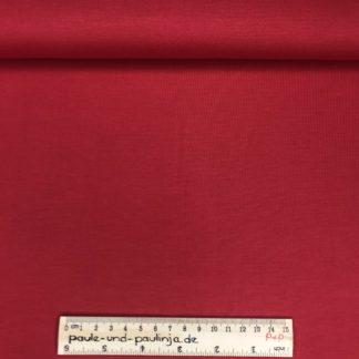 Bild Tencel Modal, Jersey, stretch, dehnbar, unifarbe, uni, rot