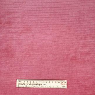Bild Cordjersey, Breitcord, Cord, rosa, rose, altrosa, Jersey