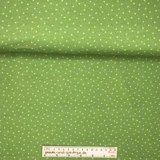 Bild Sommer Sweat, French Terry, Jersey, stretch, dehnbar, weich, grün, Punkte, hellgrün, strahlend, Sommer