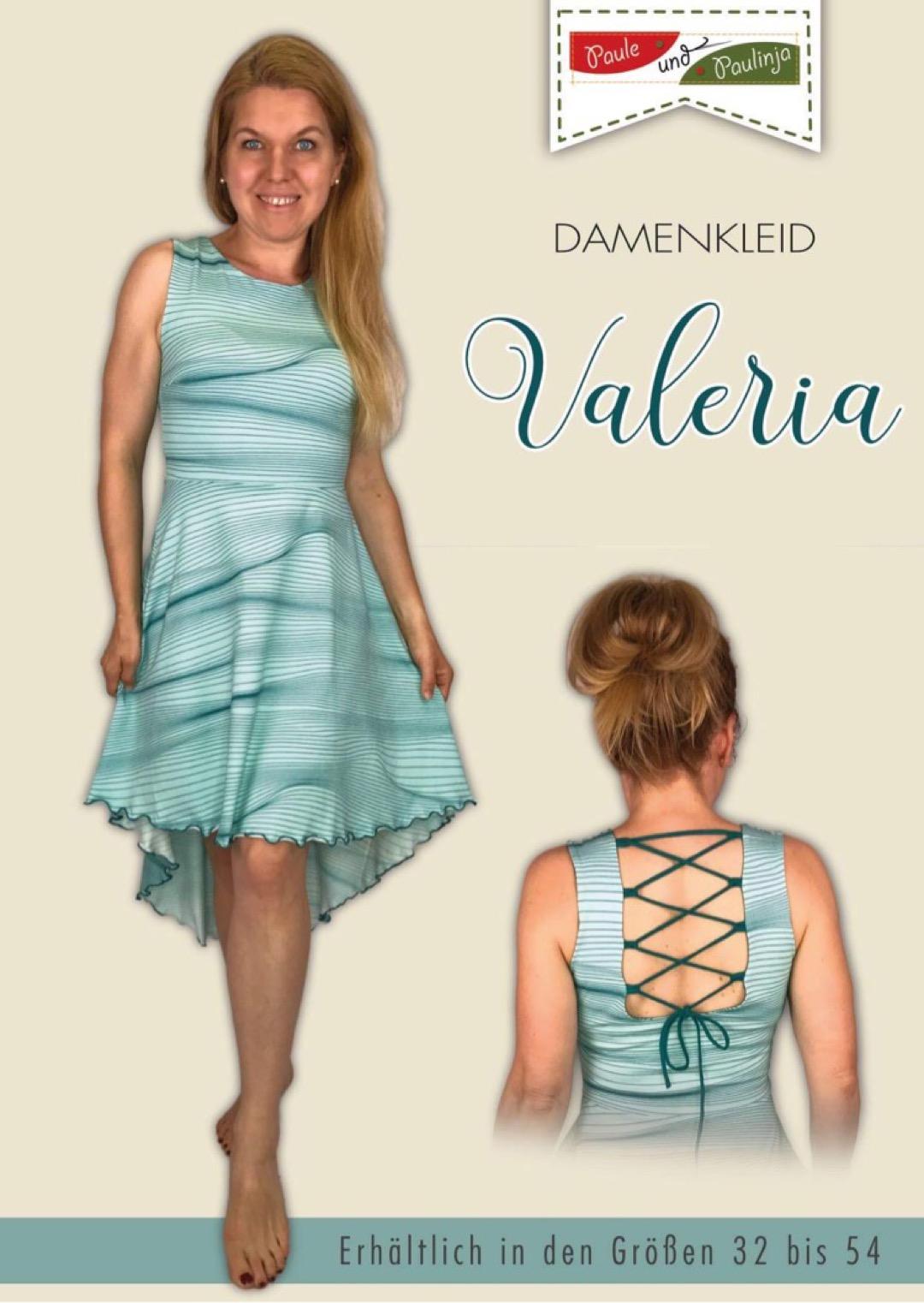 kleid valeria aus tante ema® beautiful tango stripes in blau in größen 32-54