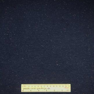 Bild Sweat, Wintersweat, warm, kuschelig, Salz und Pfeffer, unregelmäßig gepunktet, dunkelblau, costy colors