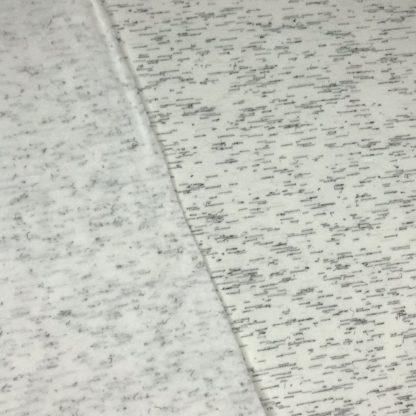 Bild Sweat, Wintersweat, warm, kuschelig, unregelmäßig gestrichelt, Streifen, schwarz, weiß