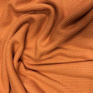 Bild Strickstoff Farbe orange