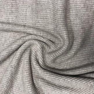Bild Strickstoff Farbe creme braun meliert