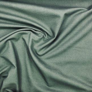 Bild Baumwolljersey, Jersey, stretch, dehnbar, bi-elastisch, Jerseystoffe, Stoffe, Rockstoff, tannengrün, dunkelgrün, grün, weißmeliert, Kleiderstoff, Hosenstoff, Jeggings, Jeansoptik, Jeanslook