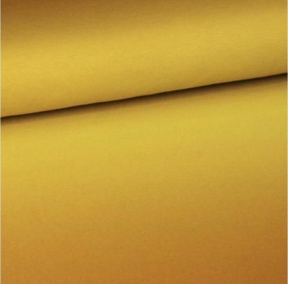 Bild Sommersweat, French Terry Farbverlaufstoff curry gelb