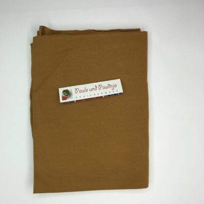 Bild Tencel Modal Jersey Farbe Curry, Senfgelb