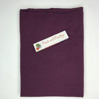 Bild Tencel Modal Jersey Farbe Aubergine - Beere - dunkles lila