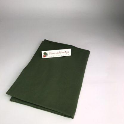 Bild Baumwolljersey Uni-Farben jägergrün, grün
