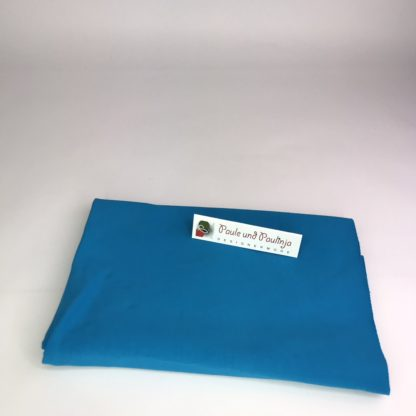 Bild Baumwolljersey Uni-Farben Azurblau
