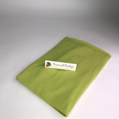 Bild Baumwolljersey Uni-Farben Apfelgrün, Hellgrün