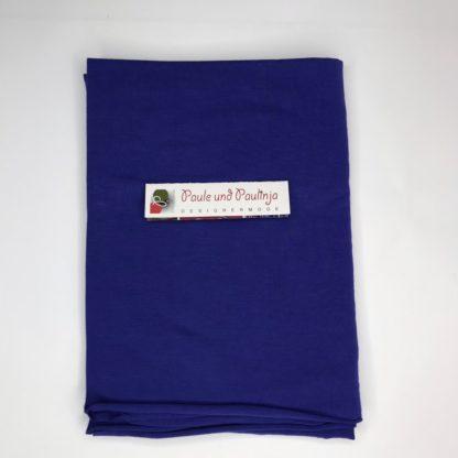Bild Tencel Modal Jersey Farbe blau, royalblau