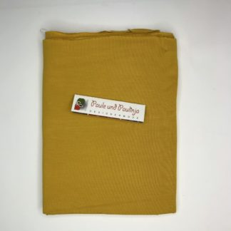 Bild Tencel Modal Jersey Farbe Gelb, Sonnenblumengelb