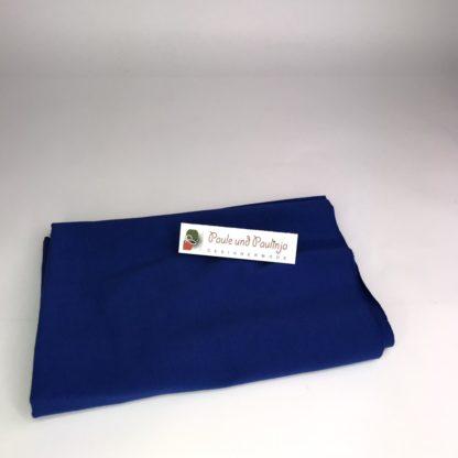 Bild Baumwolljersey Uni-Farben Blau, Jeansblau