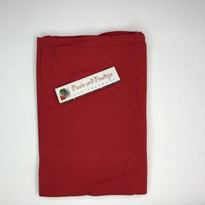 Bild Tencel Modal Jersey Farbe Rot